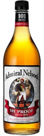 Admiral Nelsons Rum Spiced 101 Proof